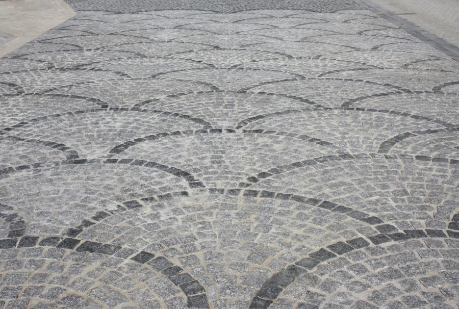 Galerie dallages et paves - Comment poser pave granit ...